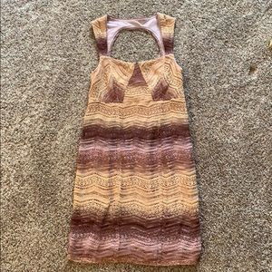 Free People Size 6 Dress Open Back Great Condition